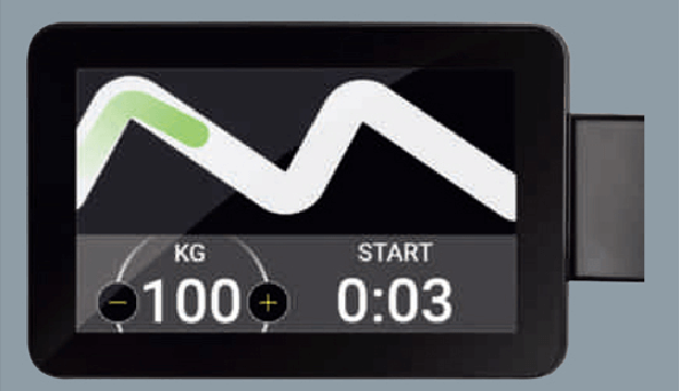 エンターテイメント性の追求|Training Machine|ACE1 fitness